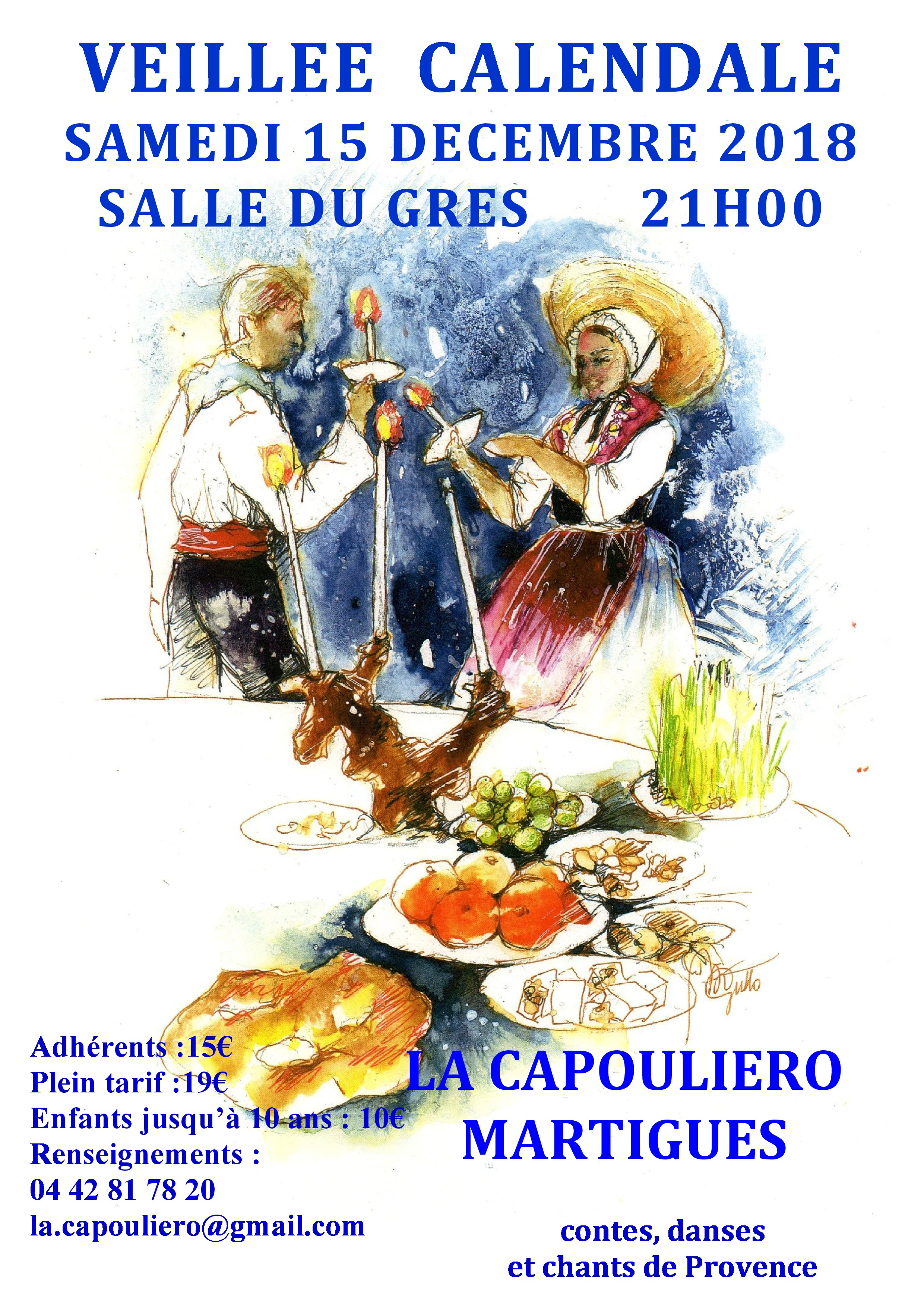 Veillée Calendale à Martigues
